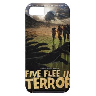 Vijf vluchten in het Hoesje van de Telefoon van de Tough iPhone 5 Hoesje