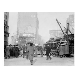 vijfde en Broadway, NYC: de vroege jaren 1900 Briefkaart