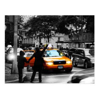 Vijfde Weg, de Stad van New York Briefkaart