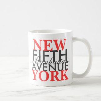 Vijfde Weg New York Koffiemok