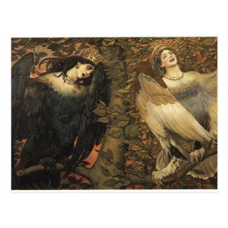 Viktor Vasnetsov- de Vogels van Vreugde en Briefkaart