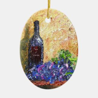 Vin d'Amore Keramisch Ovaal Ornament