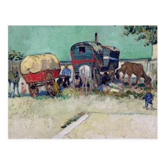 Vincent van Gogh | de Caravans, het Kamp van de Briefkaart