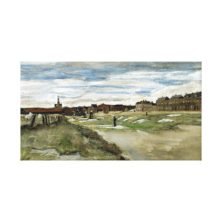 Vincent van Gogh die Grond bleken in Scheveningen Canvas Afdrukken