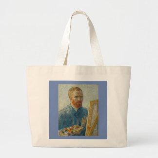 Vincent van Gogh - het Bolsa van het zelf-Portret Grote Draagtas