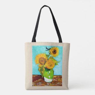 Vincent van Gogh - het Bolsa van Zonnebloemen - Draagtas