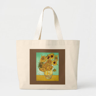 Vincent van Gogh - het Bolsa van Zonnebloemen Grote Draagtas