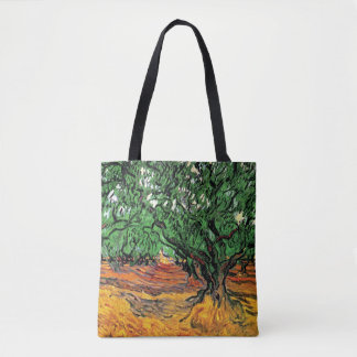 Vincent van Gogh - het Fijne Art. van Olijfbomen Draagtas