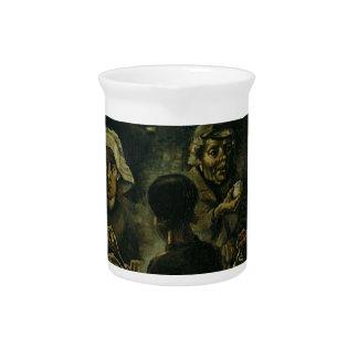 Vincent van Gogh Het Schilderen van de Eters van Bier Pitcher