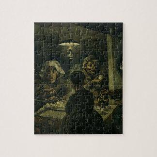 Vincent van Gogh Het Schilderen van de Eters van Puzzel