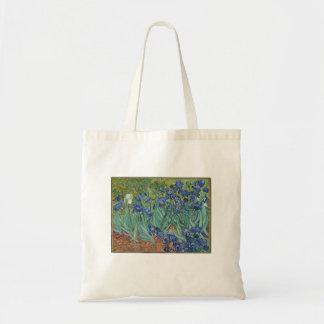 Vincent van Gogh - Irissen die het Canvas tas van