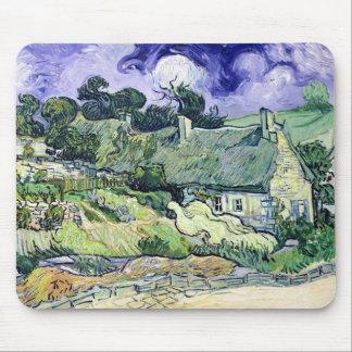 Vincent van Gogh   met stro bedekte Muismat