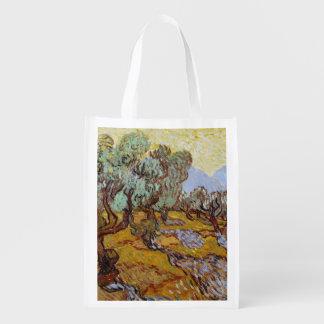 Vincent van Gogh | Olijfbomen, 1889 Herbruikbare Boodschappentas