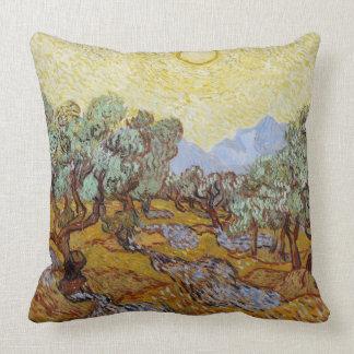 Vincent van Gogh   Olijfbomen, 1889 Sierkussen