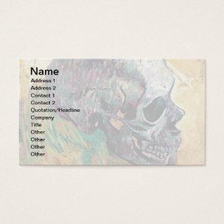 Vincent van Gogh - Schedel in Profiel - Fijn Art. Visitekaartjes