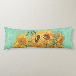 Vincent van Gogh Twaalf Zonnebloemen in een Vaas Lichaamskussen