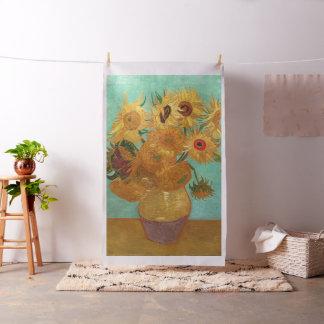 Vincent van Gogh Twaalf Zonnebloemen in een Vaas Stof