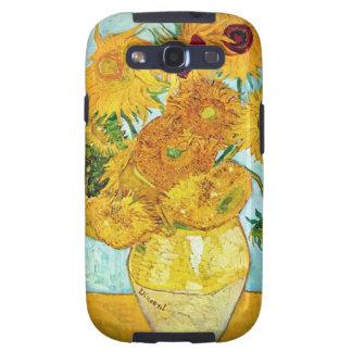 Vincent van Gogh - Vaas met 12 Zonnebloemen Samsun Galaxy SIII Hoesje