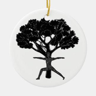 Vind Dat Evenwicht Rond Keramisch Ornament