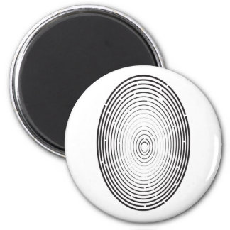 vingerafdruk pictogram magneet