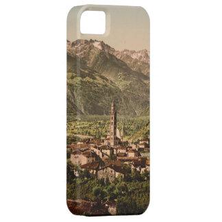 Vintage 19de eeuw Tirano, Lombardije, Italië Barely There iPhone 5 Hoesje