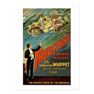 Vintage Advertentie van de Geheimzinnigheid van Briefkaart