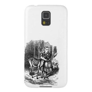 Vintage Alice in de herten fawn rustieke druk van  Galaxy S5 Hoesje