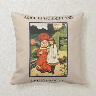 Vintage Alice in het boek van Lewis Carroll van Sierkussen