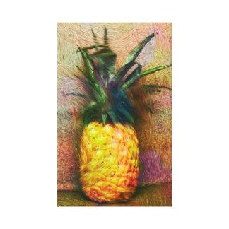 """Vintage Ananas 13 Druk van het Canvas van"""" x 21"""""""