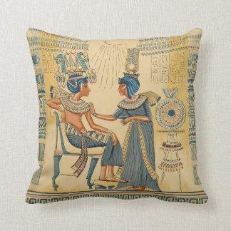 Vintage Antiek Oude Egyptische Royalty Sierkussen