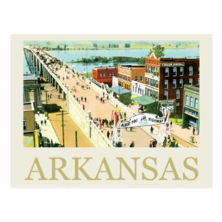 Vintage Arkansas Briefkaart