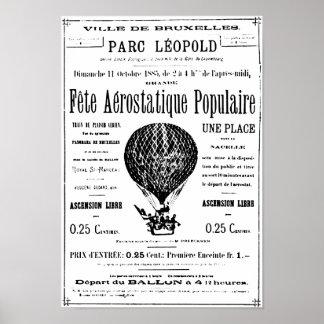 Vintage Ballons Poster