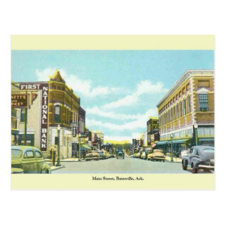 Vintage Batesville, het Briefkaart van Arkansas