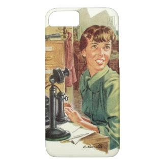 Vintage BedrijfsKantoor, CEO Werkgever en iPhone 7 Hoesje