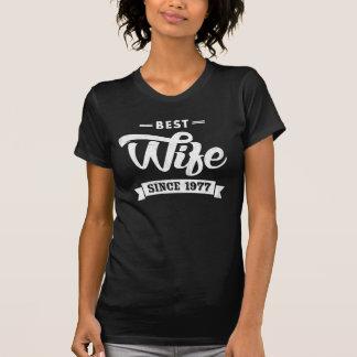 Vintage Beste Vrouw sinds 1977 T Shirt