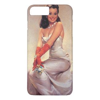 Vintage betoverende Speld omhoog met iPhoneHoesje iPhone 8/7 Plus Hoesje