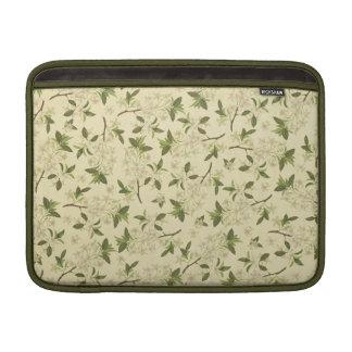 Vintage BloemenBehang Sleeve For MacBook Air
