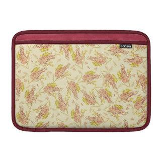 Vintage BloemenBehang MacBook Beschermhoezen
