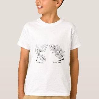 Vintage Botanische Bladeren T Shirt