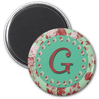 Vintage Brief G Magneet