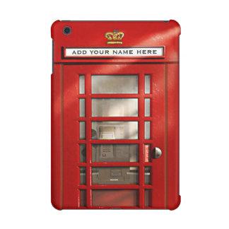Vintage Britse Rode Gepersonaliseerde Telefooncel
