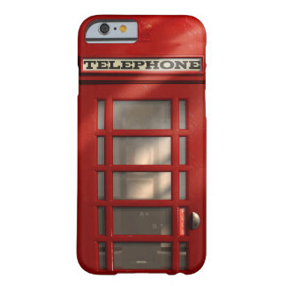 Vintage Britse Rode Telefooncel Barely There iPhone 6 Hoesje