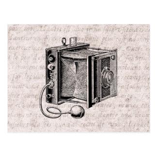 Vintage Camera - de Antiek Fotografie van Camera's Briefkaart