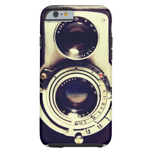 Vintage Camera Tough iPhone 6 Hoesje