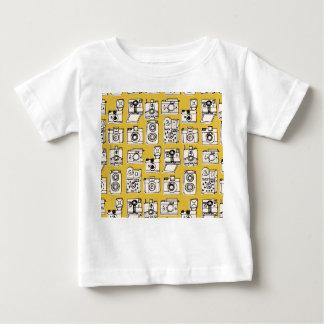 Vintage Camera's - Gele Mosterd/Andrea Lauren Baby T Shirts