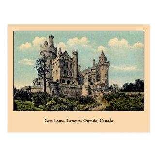 Vintage Casa Loma, Toronto, Canada Briefkaart