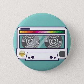 Vintage Cassette Ronde Button 5,7 Cm