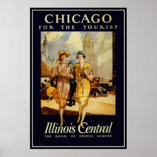 Vintage Chicago, de V.S. - Poster