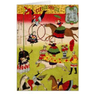 Vintage CircueSoulie Kaart
