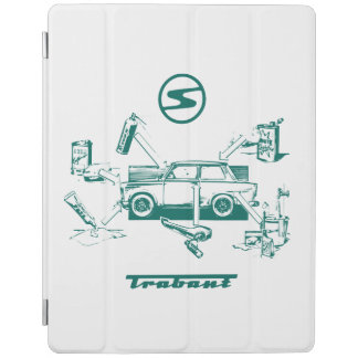 Vintage de auto iPad ProHoesje van Trabant iPad Cover